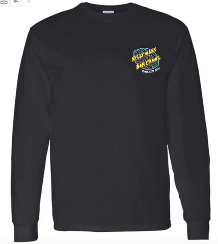Iowa City Sylly Week Bar Crawl - Long Sleeve Only Medium & Large Left