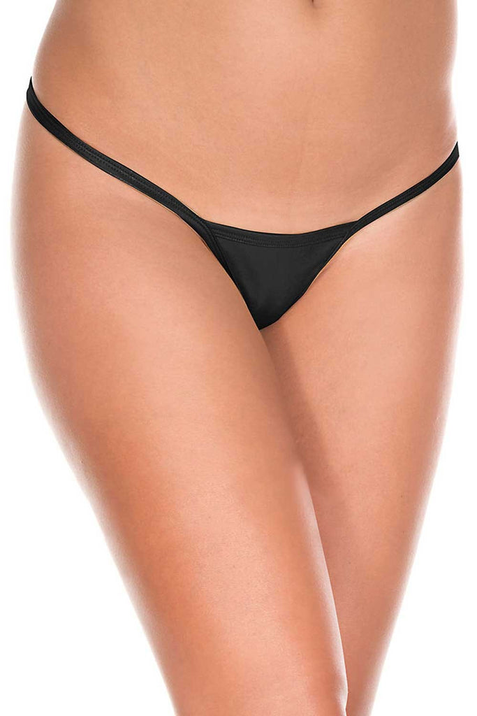 Black Metallic g-string