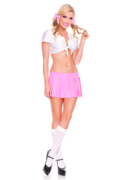 Hot Pink School Girl Top