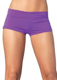 Spandex boy shorts short.