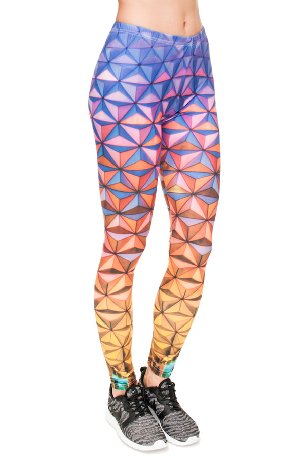 Epcot rainbow Legging