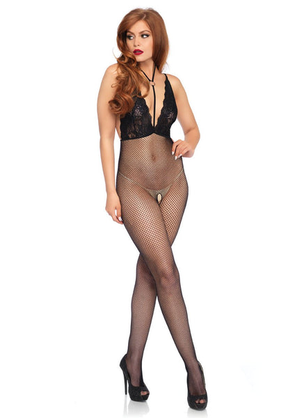O-Ring Halter Bodystocking