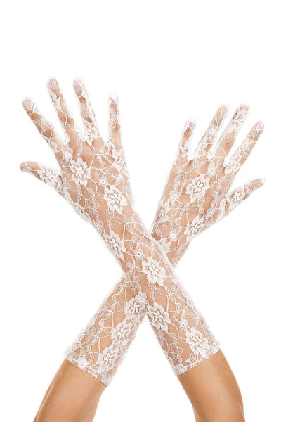 Lace Arm Gloves