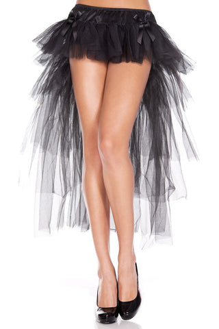Long Back Multi Layered Tulle