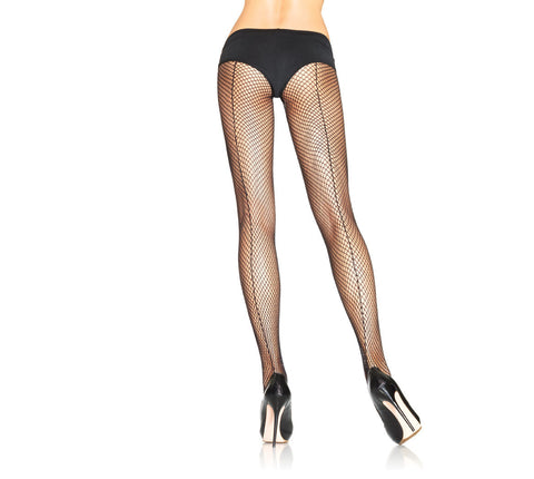 Fishnet W/Back Seam Pantyhose