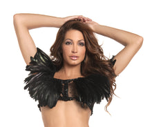 Exotic Feather Top
