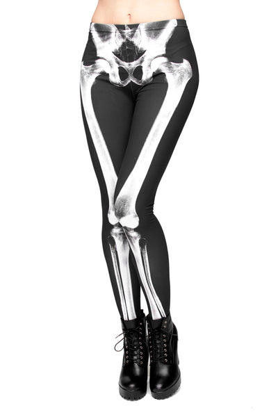 Skeleton Legs Legging