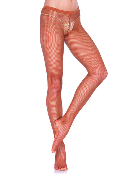Professional Fishnet Tights With Nylon/Cotton Sole,No-roll Waist Band