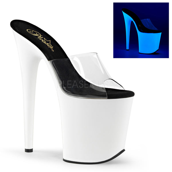 8 Inch Platform Slide Stiletto Heel.