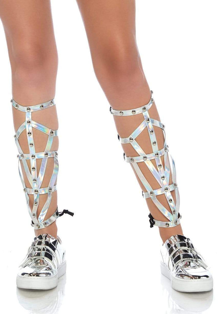 Iridescent Shin Guards