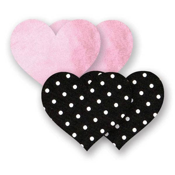 Nippies® Pretty In Pink Heart Pasty (two pairs)