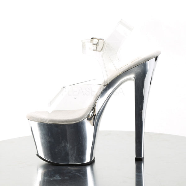"7"" Heel with Straps"