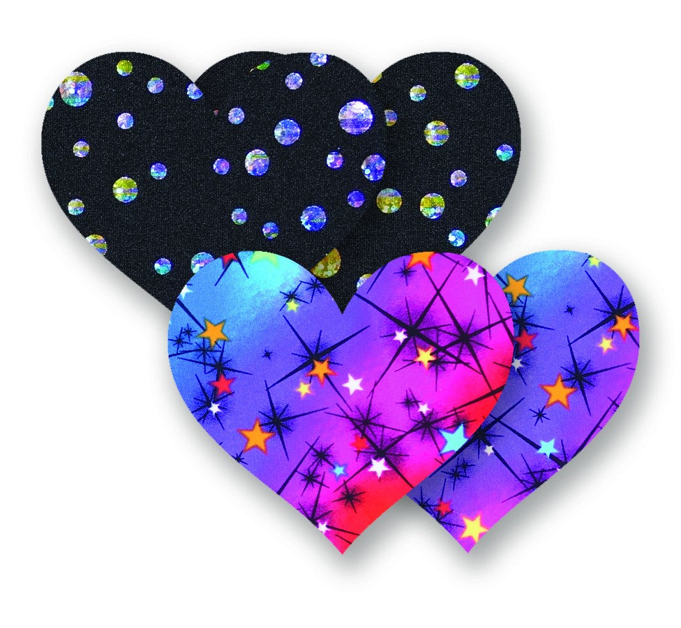 Nippies® Spin Me Heart (two pair)