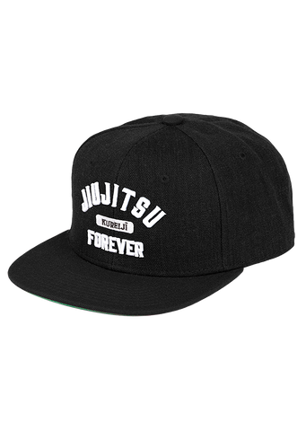 Jiujitsu Forever Hat (Black & White)