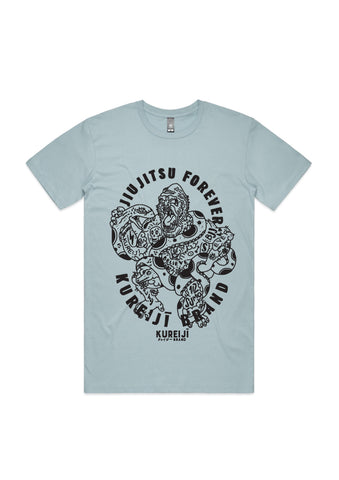 Battle Tee - Pale Blue