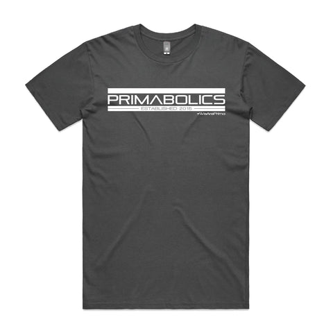 We Are Prima Tee - Charcoal