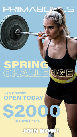 The Primabolics 40 Day Spring Challenge