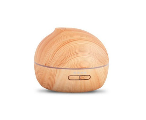 4 in 1 Ultrasonic Aroma Diffuser 300ml - Light Wood FREE DELIVERY