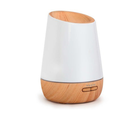 4 in 1 Ultrasonic Aroma Diffuser 500ml - Light Wood FREE DELIVERY