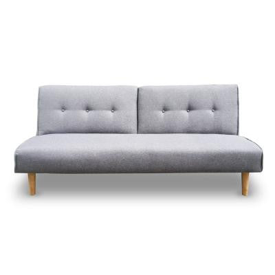 3 Seater Sofa Bed - Light Grey