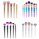 Unicorn 🦄 Makeup Brush Sets 5PCS, 7PCS, 8PCS & 10PCS