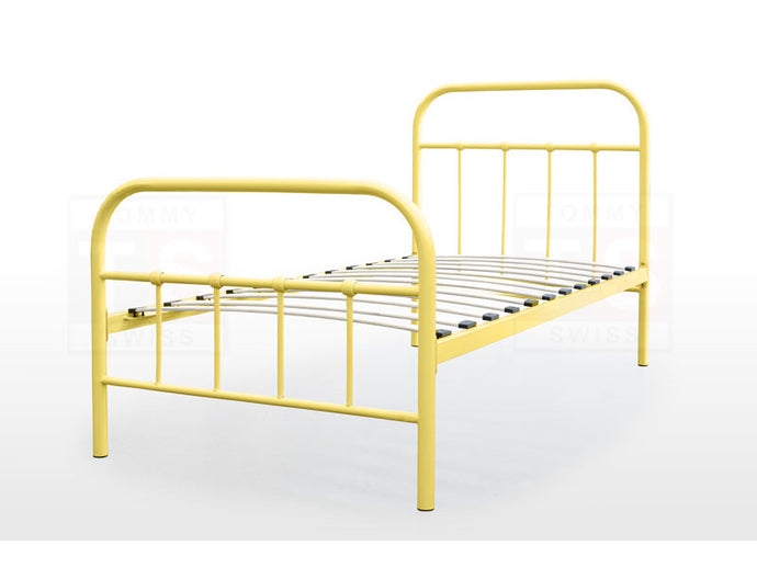 Single Size Metal Bed Frame (Elmo Collection, Yellow)
