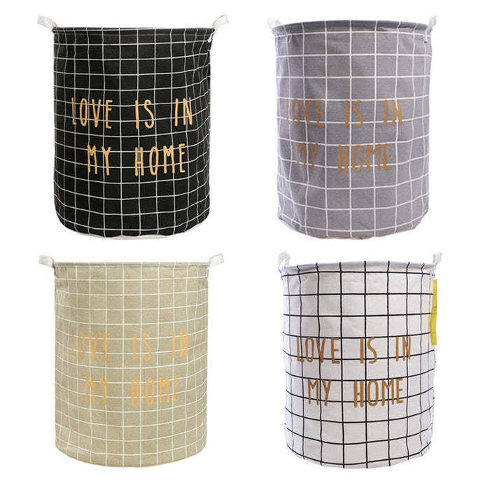 Storage basket 'Love Is In My Home'