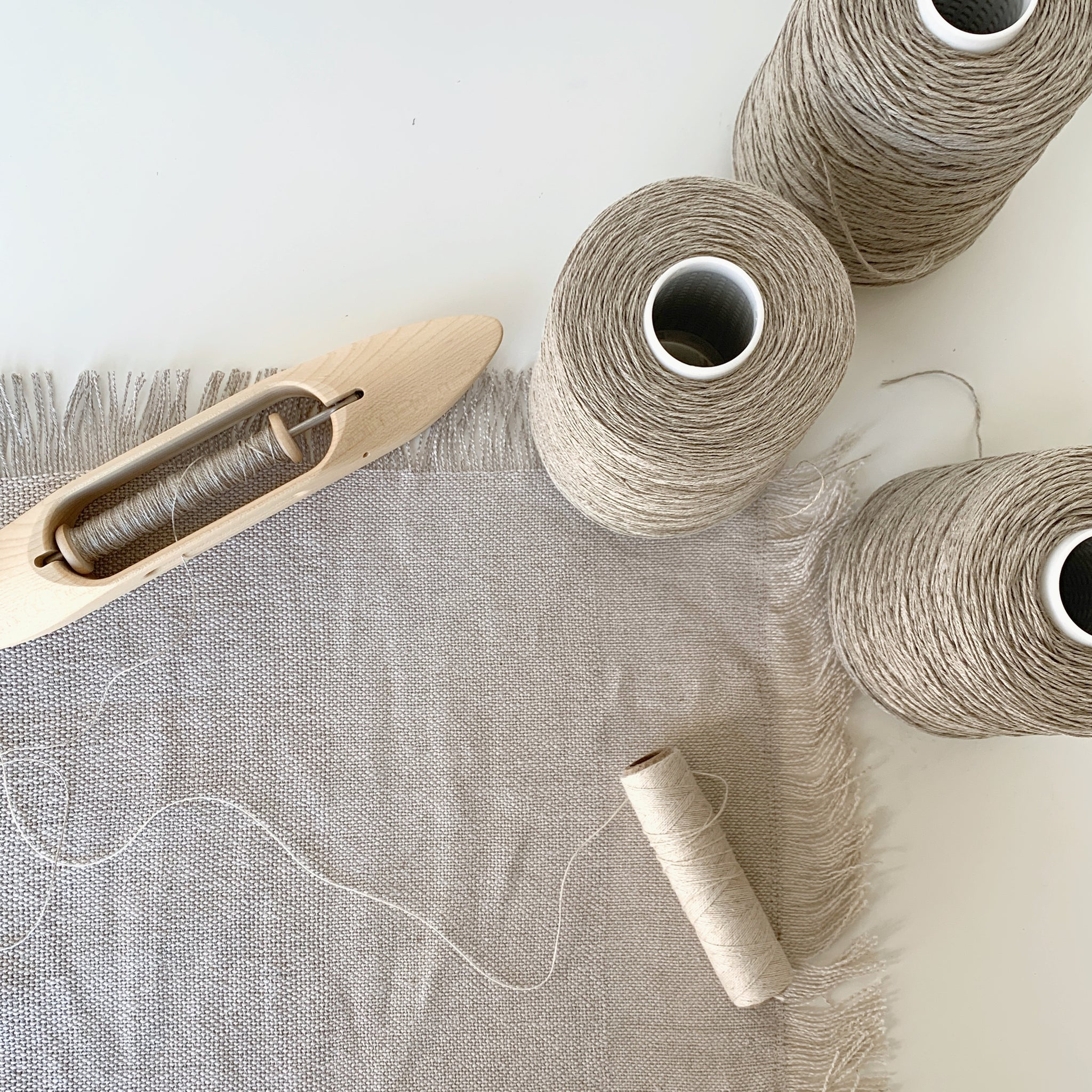 All About Weaving with Linen - GATHER