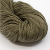 Naturally Dyed Organic Linen - Moss