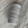 Cotton Boucle with Metallic 100g - Silver (Argent)
