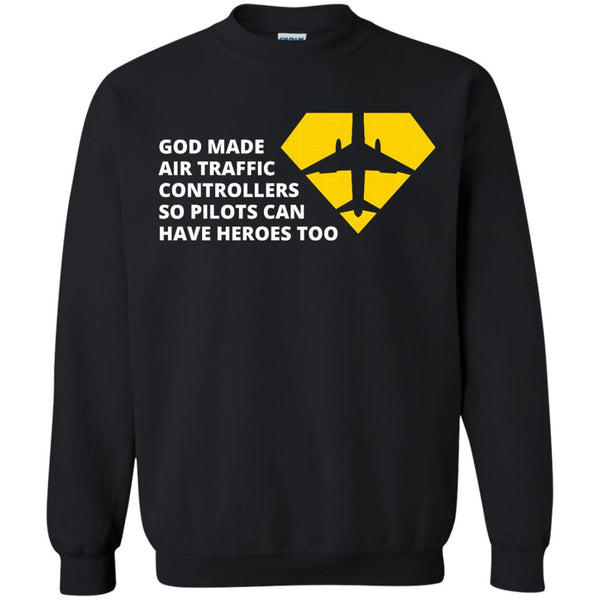 Air traffic Controllers Shirts Pilots Can Have Heroes T-shirts Hoodies Sweatshirts