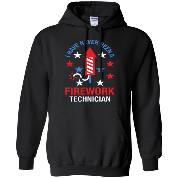 America Shirts FIREWORK TECHNICIAN RED WHITE AND BLUE T-shirts Hoodies Sweatshirts