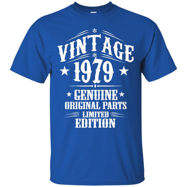 1979 Shirts Vintage Genuine Limited Edition T-shirts Hoodies Sweatshirts