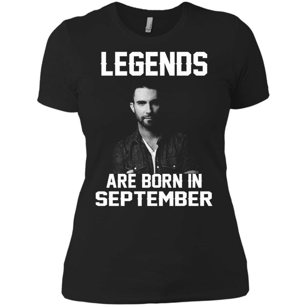 Adam Levine T-shirts Legends Are Born In September Hoodies Sweatshirts