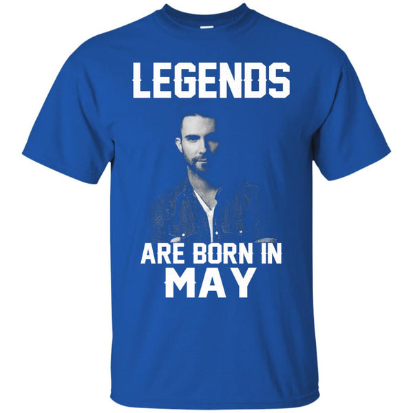 Adam Levine T-shirts Legends Are Born In May Hoodies Sweatshirts