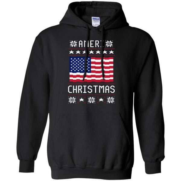 America Shirts AMERI' CHRISTMAS UGLY SWEATER T-shirts Hoodies Sweatshirts