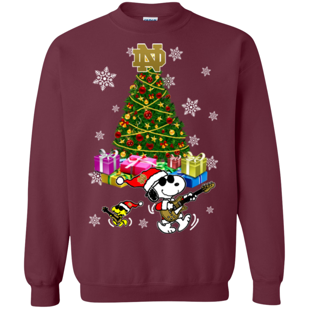Notre Dame Fighting Irish Ugly Christmas Sweaters Merry Christmas ...