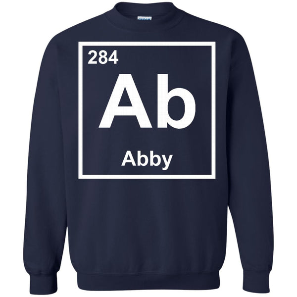 Abby Chemical Elements Shirts I'm Abby T-shirts Hoodies Sweatshirts
