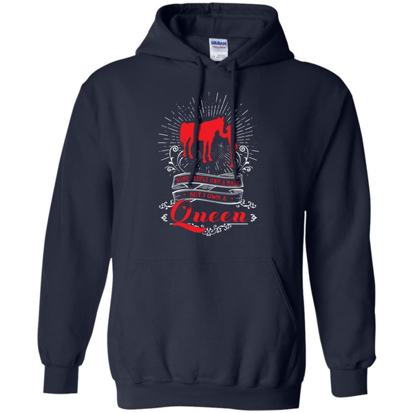 Animal Lovers Mare T-shirts Some People Own A Mare But I Own A Queen Shirts Hoodies Sweatshirts