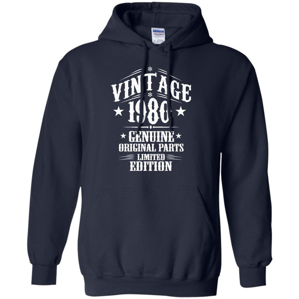 1980 Shirts Vintage Genuine Limited Edition T-shirts Hoodies Sweatshirts