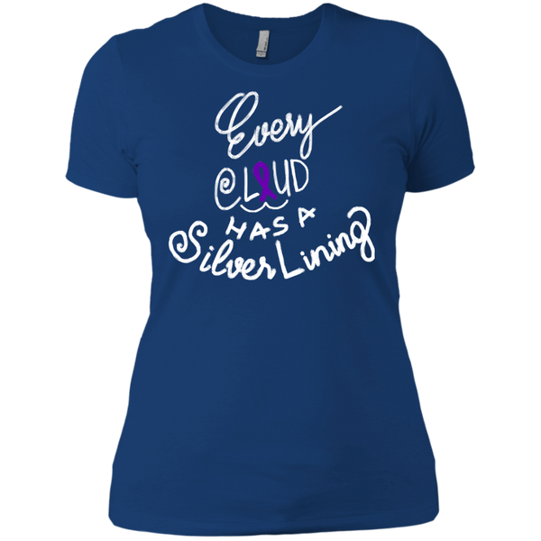 Alzheimer Shirts Every Cloud Has  A Silver Lining T shirts Hoodies Sweatshirts