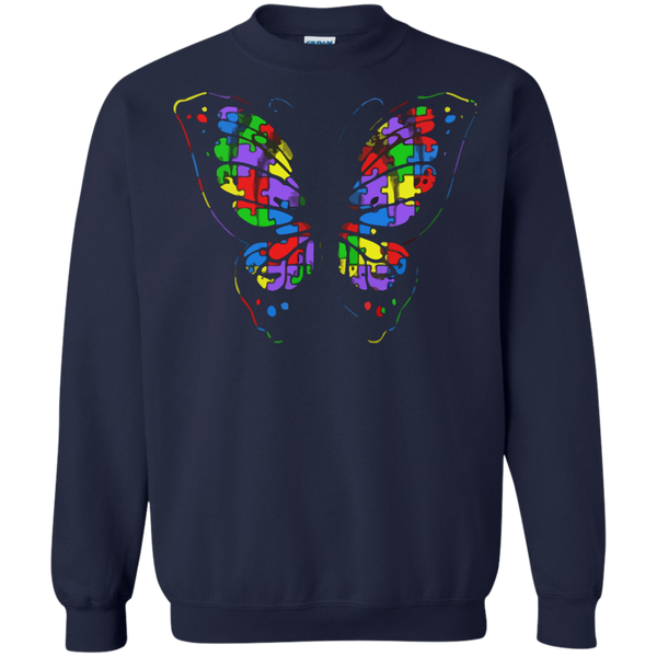 Autism Awareness T-shirts Autism Butterfly Shirts Hoodies Sweatshirts