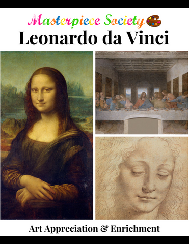 Da Vinci Study - Masterpiece Society Art Appreciation