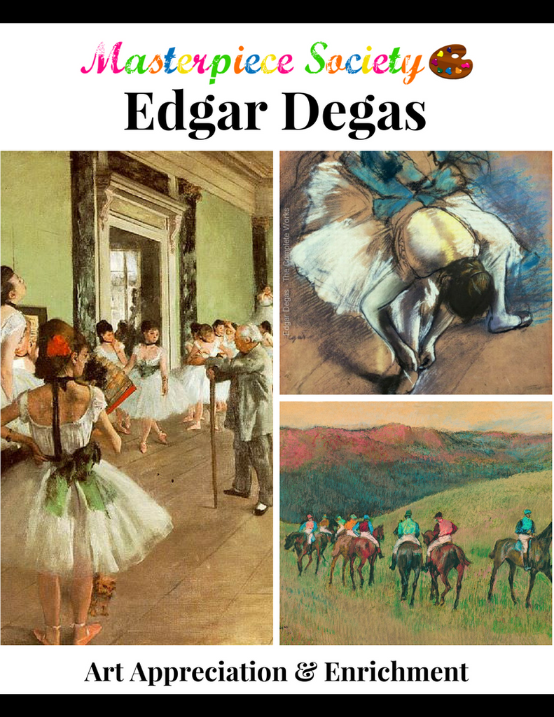 Degas Study - Masterpiece Society Art Appreciation