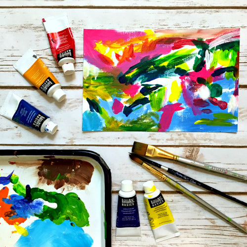 Art School Bundle: Drawing 101, Watercolors 101, Acrylics (& Oils) 101, AND Pastels 101