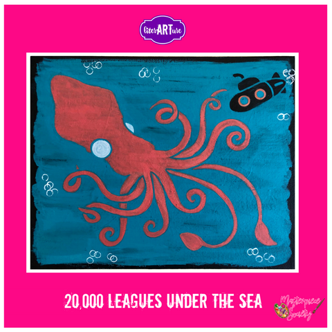 LiterARTure: Twenty Thousand Leagues Under the Sea