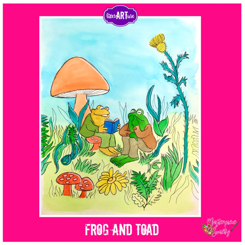 LiterARTure: Frog and Toad