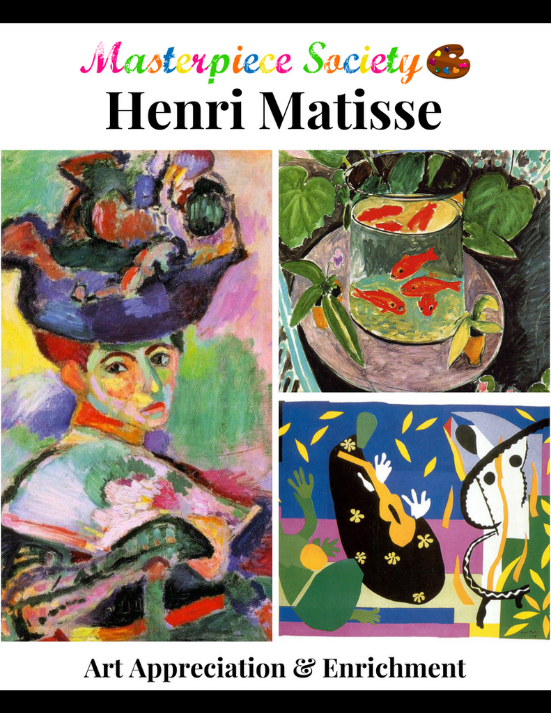 Matisse Study - Masterpiece Society Art Appreciation