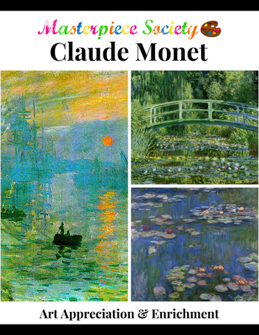 Monet Study - Masterpiece Society Art Appreciation