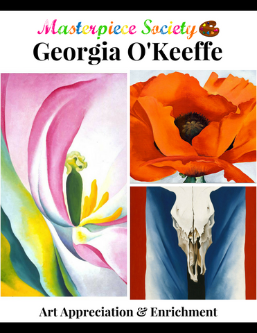 O'Keeffe Study - Masterpiece Society Art Appreciation